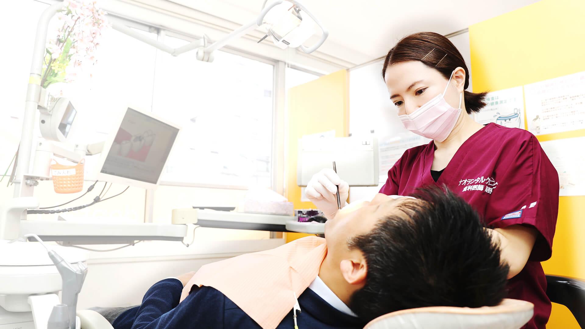 歯科医師 島野真汐